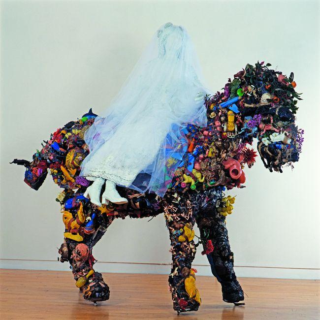 Cheval et la mariée (1964), Niki de Saint Phalle