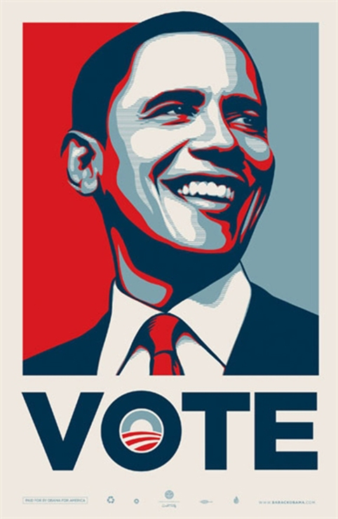 Obama par Shepard Fairey