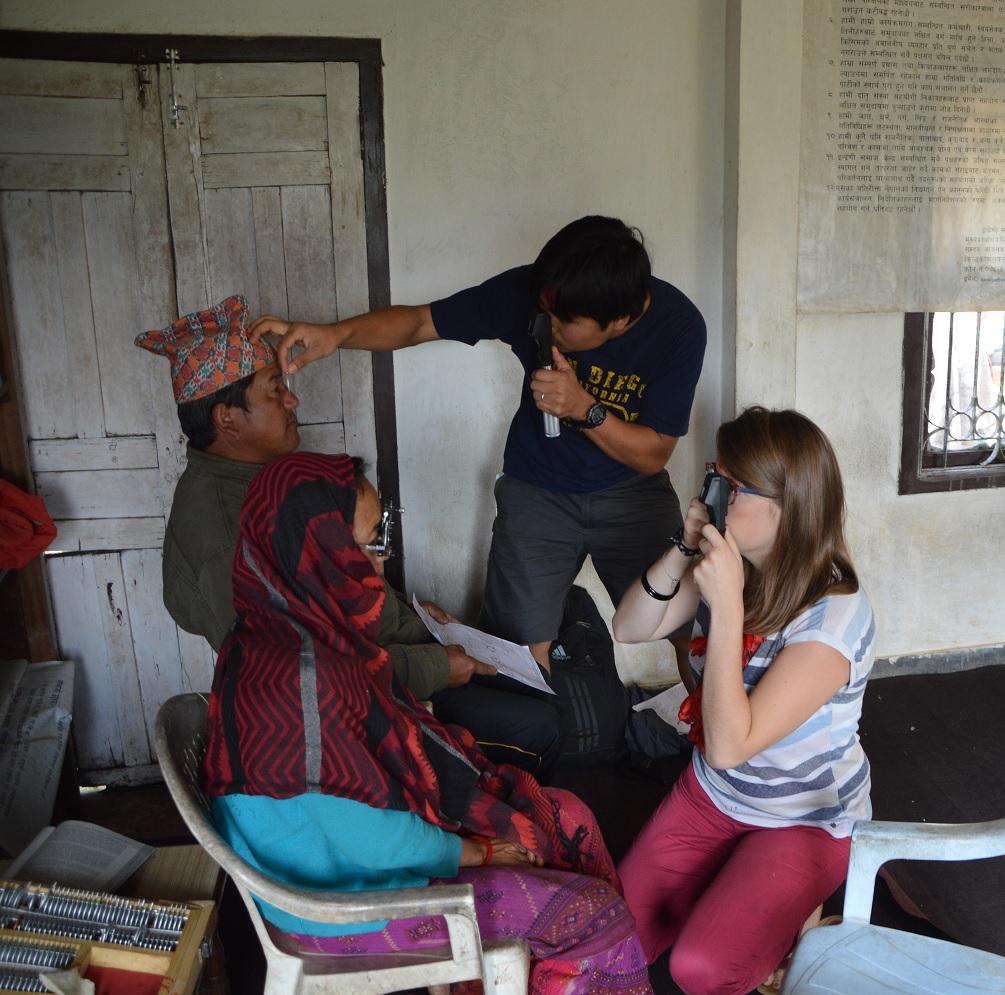 Mission ophtalmologique au Népal